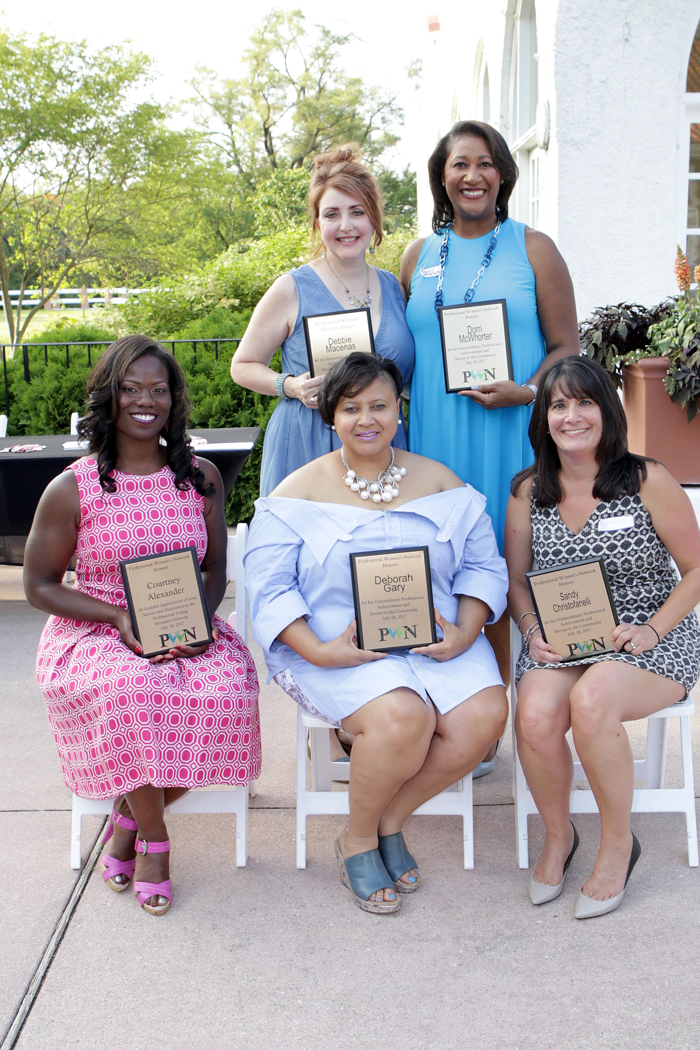 PWN Honors Five Women at 2017 Summer Soirée