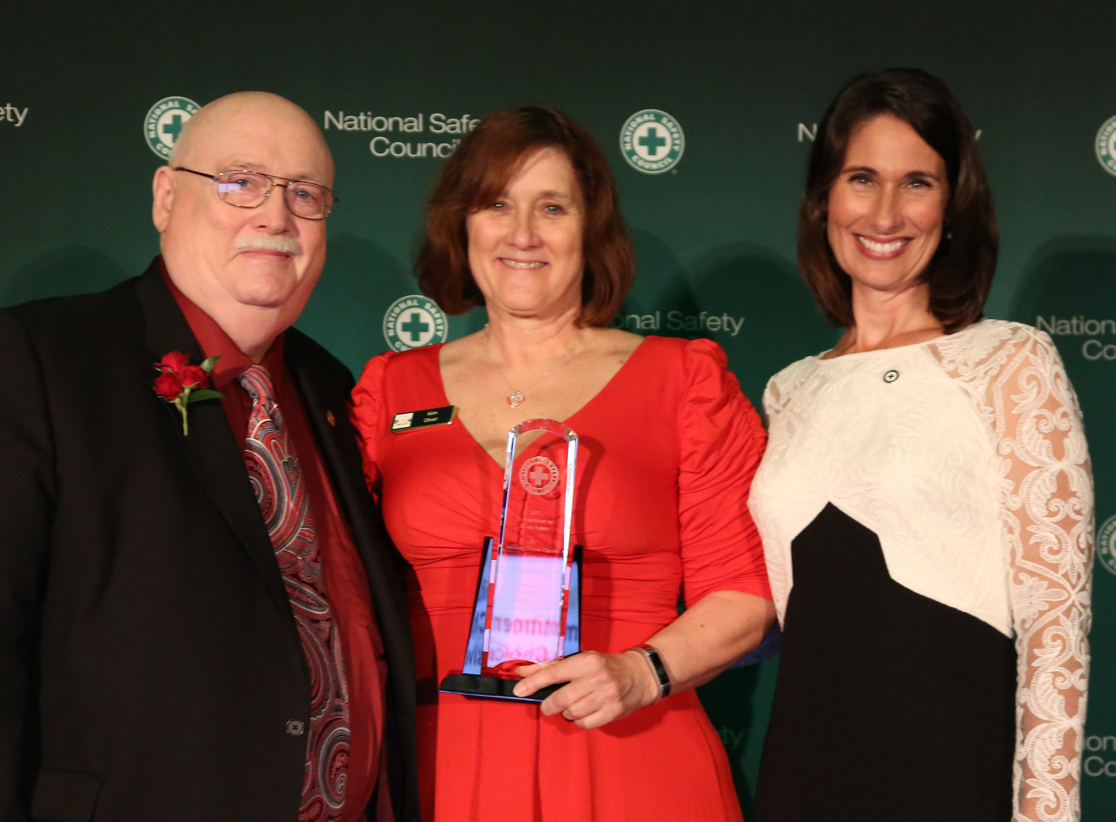Kim Olver Receives National Commitment to Driver Safety Award